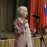 Дипломант конкурса проекта fotohroniki.ru Мария Кабалевская на пресс-конференции юных журналистов