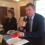 Директор Института научно-общественной экспертизы Сергей Рыбальченко на семинаре по защите прав в сфере дошкольного образования (г.Череповец, 11 апреля 2017).