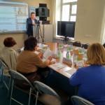 руководитель проекта Сергей Рыбальченко сделал акцент на демографических, социальных и экономических аспектах проблемы
